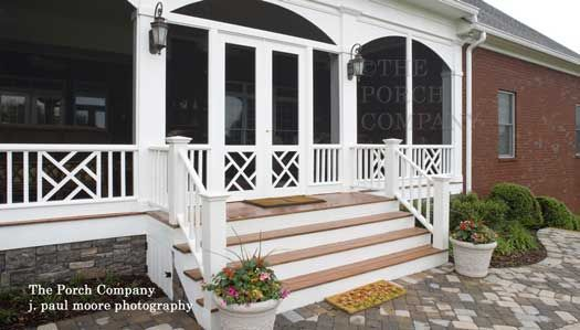 Screen Porch Design Ideas For Your Porch S Exterior Screened Porch Designs Porch Railing Designs Porch Design