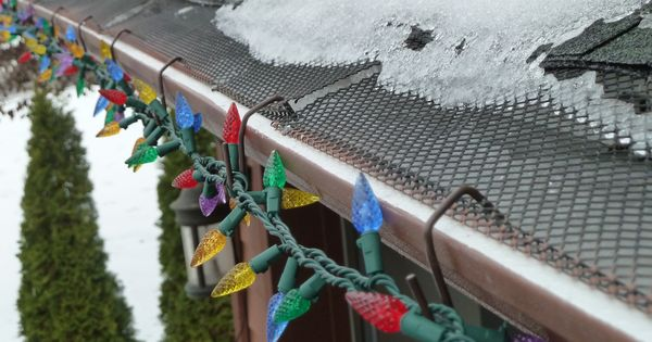 Pin By Christmas Hook On Sposobstva In 2020 Christmas Light Hanger Christmas Light Hangers Gutter Colors