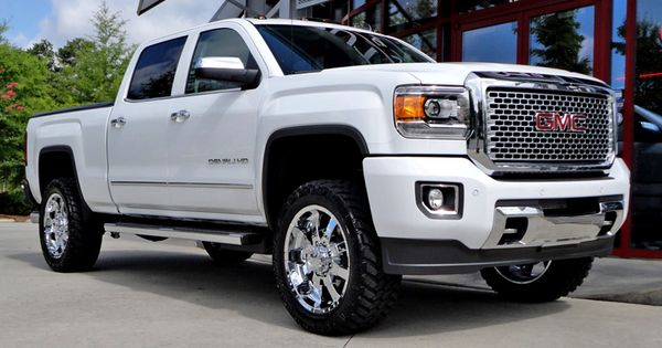 Gmc Sierra Denali 2500 With 20in Ultra Goliath Wheels Gmc Denali