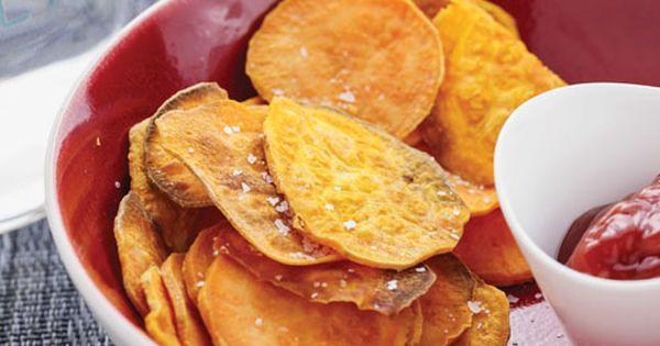 Recipe Of The Week Sweet Potato Chips Legion Athletics Recipes Yummy Sweet Potatoes Sweet Potato Chips