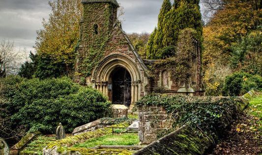Overton Church, Wales- long abandoned church 79