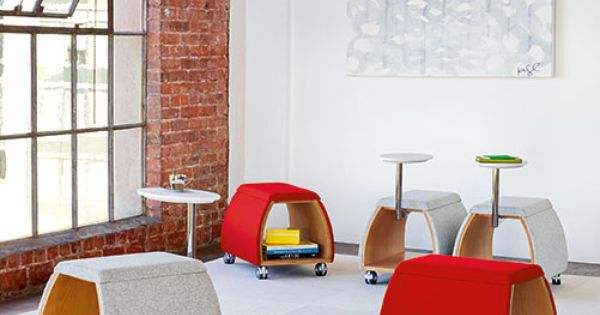 Spot Mobile Benches Casual Meeting Space Furniture