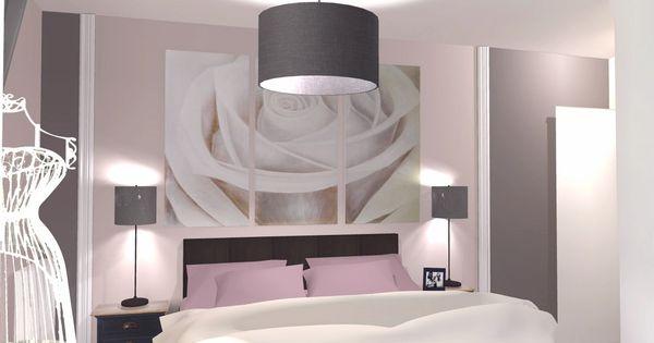 Changement d 39 ambiance avec la d coration romantique de - Deco chambre parentale romantique ...