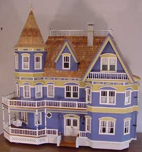 Queen Anne Free Shipping Over 225 Miniatures Com Doll House Plans Toy House Dollhouse Miniatures Diy