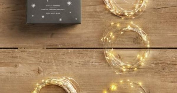 Price: $15.00 LEARN MORE & PURCHASE AT Restoration Hardware Product: Starry String