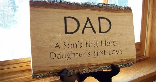 So true. My dad didn't have any sons but he is most