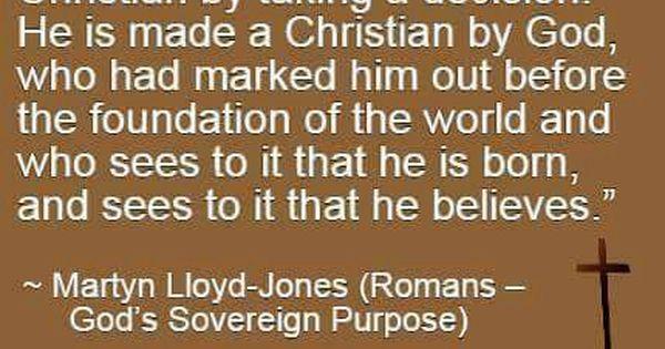 Quotes: Martyn Lloyd Jones