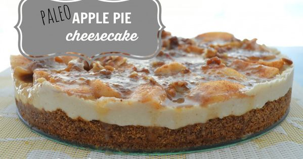 Apple pie cheesecake, Paleo apple pie and Apple pies on Pinterest