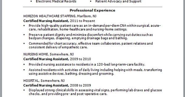 best resume cna no experience    jobresumesample com  713  best
