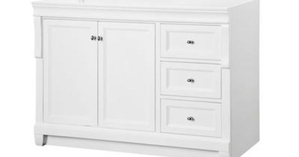Foremost International Naples White 48 Inch Vanity