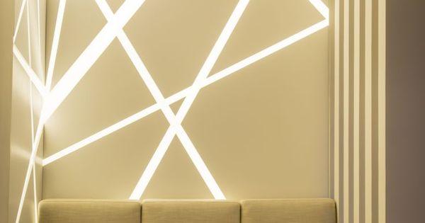 Idées d' éclairage indirect mural dans les intérieurs modernes ...