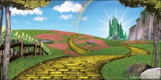 Backdrops Wizard Of Oz 3a Wizard Of Oz Musical Wizard Of Oz