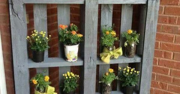 paletten balkon pflanzen garten pinterest pallets garden pallet and pallet projects. Black Bedroom Furniture Sets. Home Design Ideas