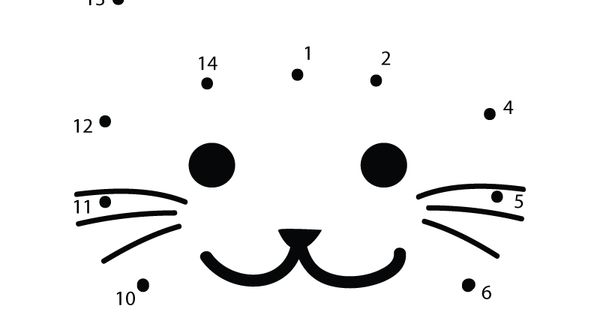 Preschoolers Can Connect The Dots To Make A Cat In This