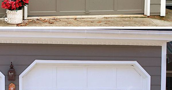 How To Add Fake Grilles To Garage Door Windows Pretty