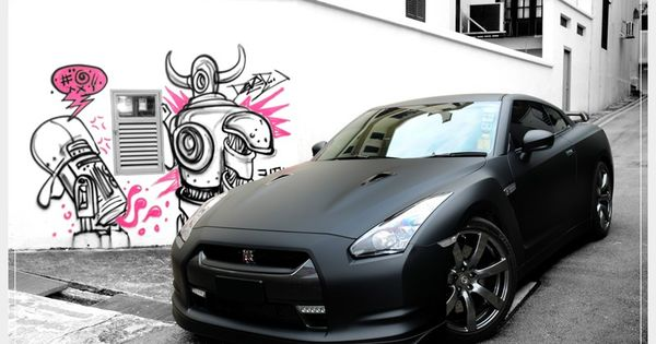nissan gtr ... basically the nissan skyline i've always wanted but made