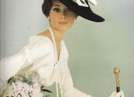 Audrey Hepburn in Vogue 1964
