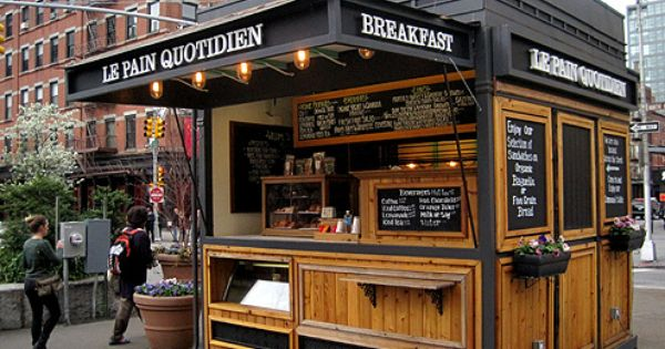 A food kiosk can be inserted into these pedestrian plazas as well kiosks pinterest food - Food booth ideas ...