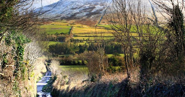 The Galtee Mountains or Galty Mountains are a mountain range in Munster,