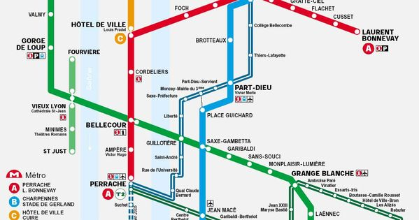 lyon france metro tramway map subway maps pinterest maps france map and lyon. Black Bedroom Furniture Sets. Home Design Ideas