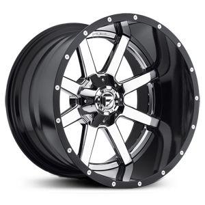 Fuel D262 Maverick Wheels Tires Chrome Wheels Custom Wheels