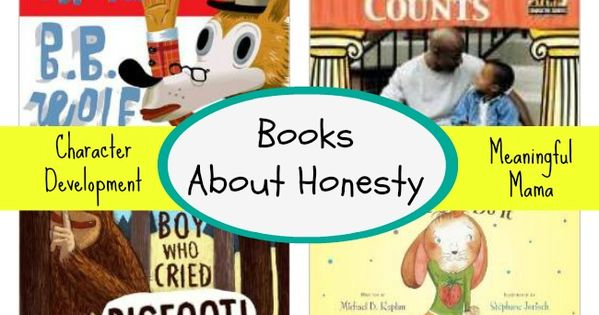 These books about honesty is perfect for kids. Themes like character and