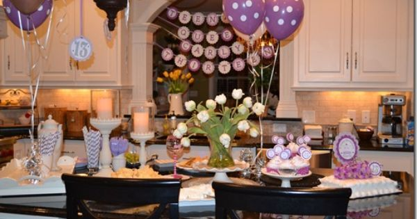 13th birthday party teen girl birthday party ideas for 13th birthday decoration ideas