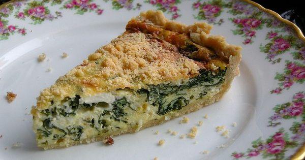 ... Monday: Spinach Ricotta Quiche   Spinach Ricotta, Quiche and Ricotta