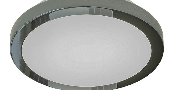 Plafonnier light m tal rond lapeyre sdb pinterest for Plafonnier sdb
