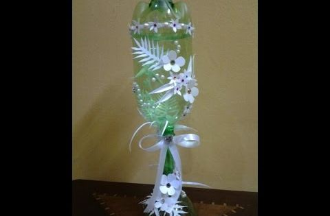 Best out of waste plastic bottles and can transformed to for Best out of plastic