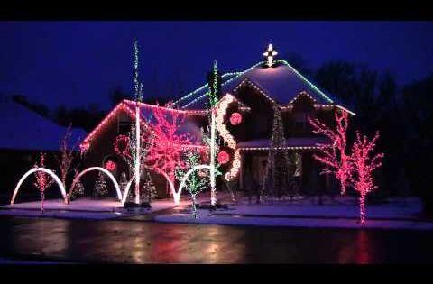 Pin On Christmas Light Show