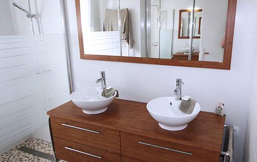 Spot Applique Pour Miroir De Salle De Bain Modele Pondora De Salgar Chrome Brillant Lu Salle De Bains Meubles Bois Salle De Bain Bois Salle De Bain En Bambou