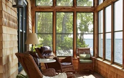 Lake House Screened In Porch Make Mine Rustic Pinterest Porch Screens And Lakes