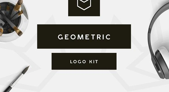 Geometric Logo Kit – perfect for t-shirt creation
