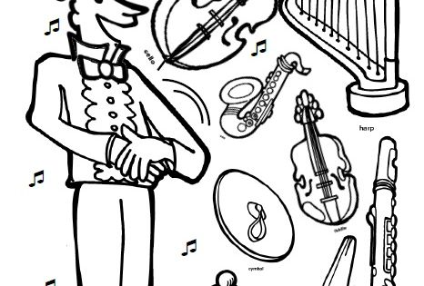 I know a shy fellow who swallowed a cello coloring page for Shy guy coloring pages