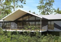 Mountainview Single Level Steel Kit Home House Plans Australia Australian House Plans Kit Homes Australia