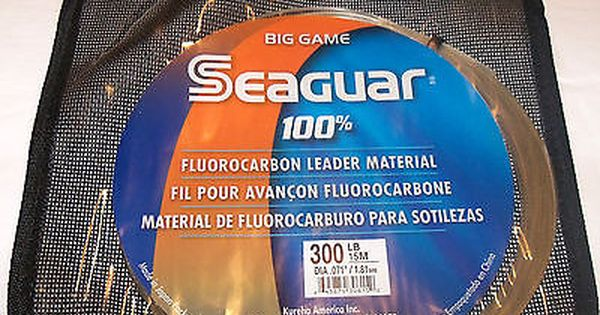 line seaguar big game blue label leader meter coil clear buy it now only pinterest game and blue