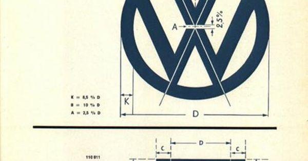 original VW Logo guidelines - sigh my first car!
