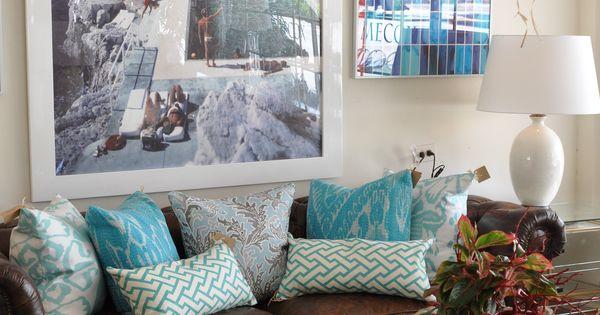 Colors of the sea decoraci n salas pinterest sala de for Decoracion piso montana