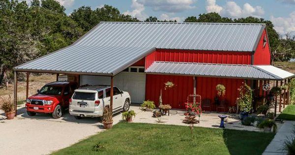 True American Dream Metal Building Barn Home W Wrap