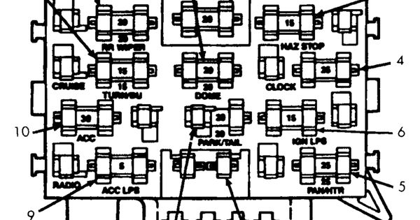 Diagram 89 4runner Fuse Diagram Diagram Schematic Circuit Henry