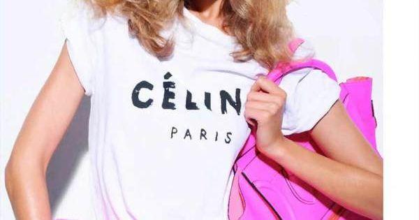 Céline - hot pink bags