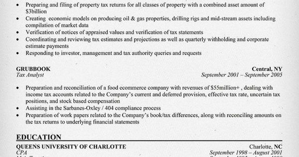 tax accountant resume sample samples across all industries junior - tax accountant resume sample