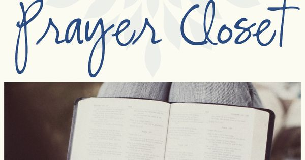 Interested in creating your own private prayer closet? It's easier than you