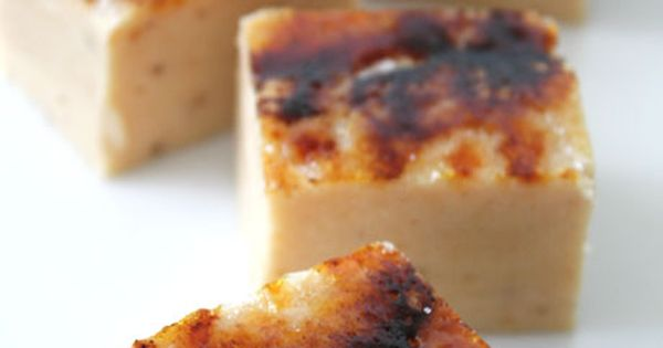 Creme Brulee Fudge: A Tale of Three Fudges.