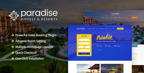 Paradise Hotels Resorts Responsive Wordpress Theme Paradise Hotels Resorts Responsive Wordp Wordpress Theme Responsive Paradise Hotel Wordpress Theme