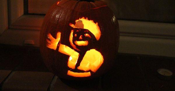 Fallout theme pumpkin carving halloween pinterest