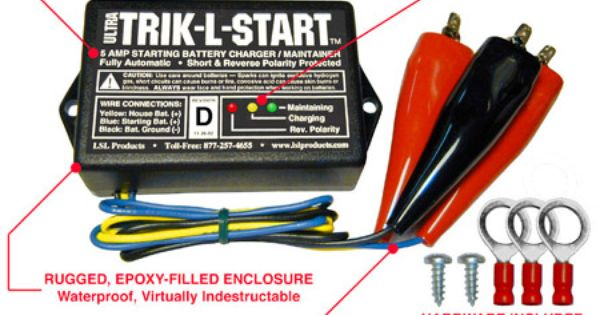 Ultra Trik L Start Starting Battery Charger Maintainer Automatic Battery Charger Battery Battery Charger