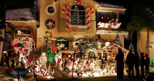 Best Christmas Light Displays In Orange County Candy Cane Lane El Corzo St Best Christmas Lights Best Christmas Light Displays Christmas Light Displays