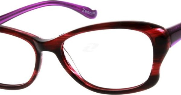 Nerd Glasses Zenni Optical : Acetate Full-Rim Frame 625318